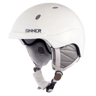 Sinner Titan - Skihelm - Unisex - L / 61-62 cm - Wit