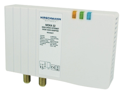 Hirschmann Moka 32 coax multimedia-adapter