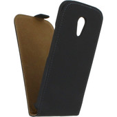 Mobilize Ultra Slim Flip Case Motorola Moto G (Gen 2) Zwart