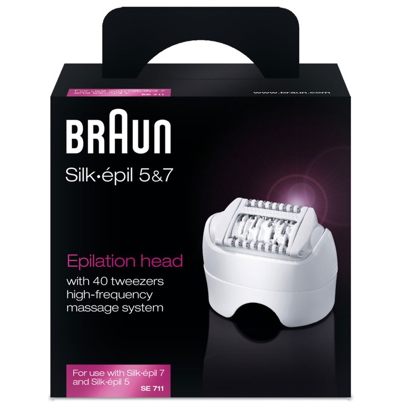 Braun Silk-épil Key Part Se 711 - Epilator Opzetstuk