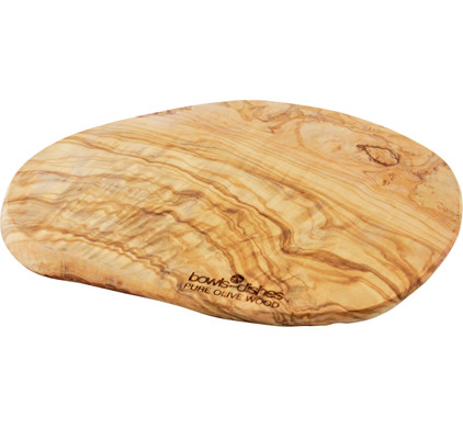 Bowls & Dishes Pure Olive Wood Tapasplank 30 cm