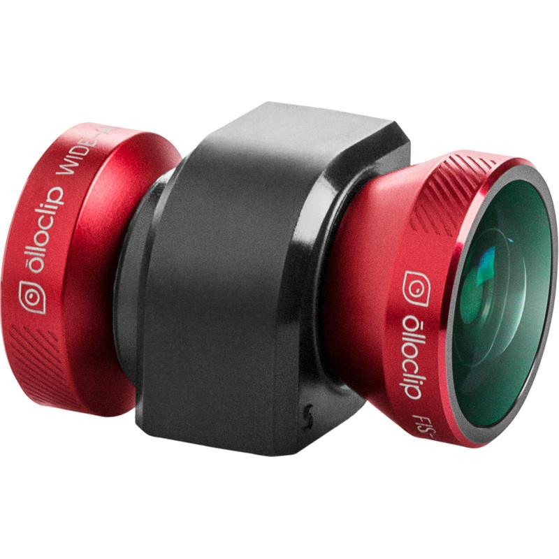 Olloclip 4 In 1 Smartphone-cameralens Iphone 5/5s Rood/zwart