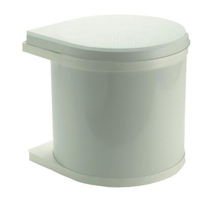 Hailo Mono 12 Liter Wit