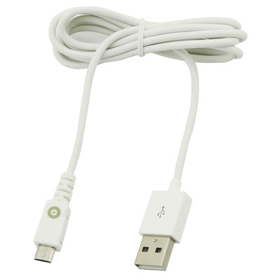 Muvit Micro USB Kabel 1,2m 2,1A Wit
