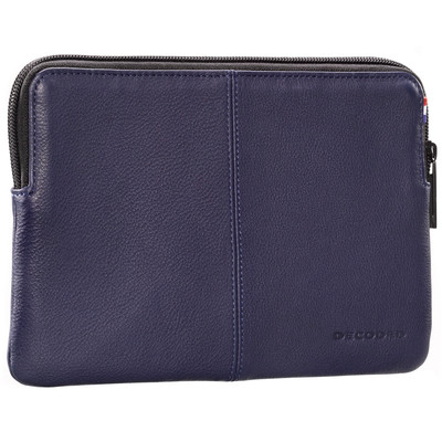 Decoded Leren Slim Sleeve iPad Air 1 / 2 Blauw