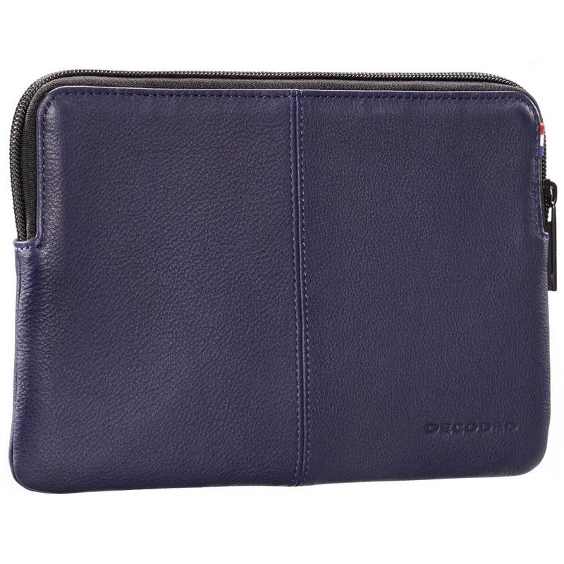 Decoded Leren Slim Sleeve iPad Air 1 / 2 Blauw