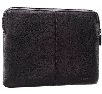 Decoded Leren Slim Sleeve iPad Mini / 2 / 3 Zwart