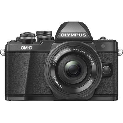 Image of Olympus E-M10 Mark II systeemcamera Zwart + 14-42mm EZ