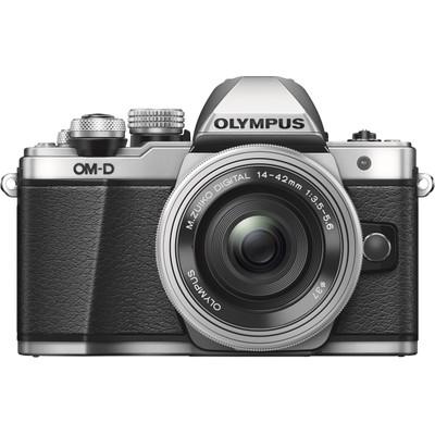 Image of Olympus E-M10 Mark II systeemcamera Zilver + 14-42mm EZ