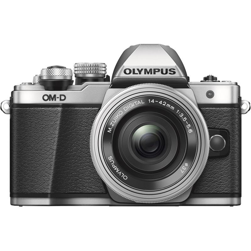 Olympus Om-d E-m10 Mk Ii Zilver + 14-42mm Ez