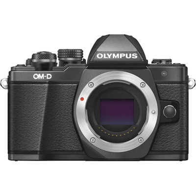 Image of Olympus E-M10 Mark II systeemcamera Body Zwart