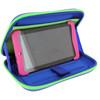 product in gebruik Tab 2 Case Blauw