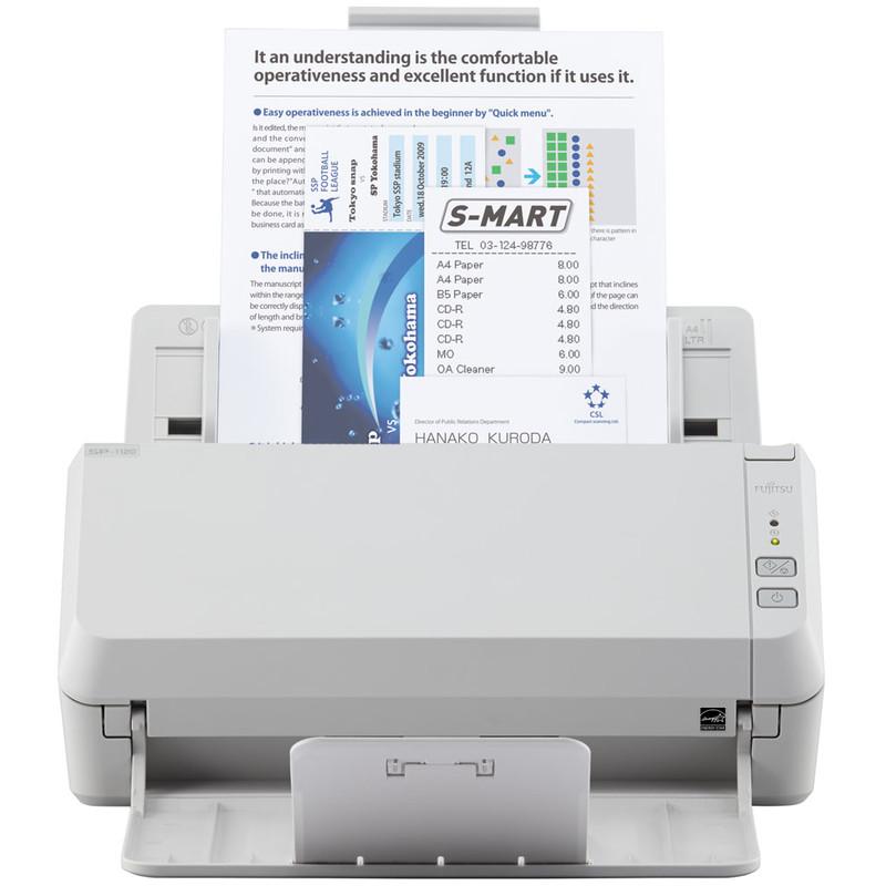 Fujitsu 20 ppm 40 ipm A4 Duplex (colour) USB 2.0: Con.: USB 2.0 (cable in the (PA03708-B001)