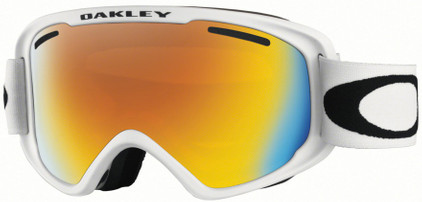 Oakley O2 XM Matte White + Fire Iridium Lens