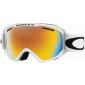 Oakley O2 XM Matte White + Fire Iridium