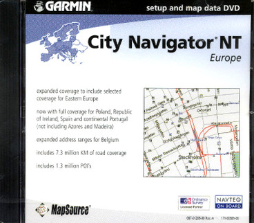Garmin City Navigator NT Europe
