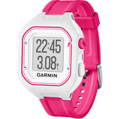 Garmin Forerunner 25 Wit/Roze - Small