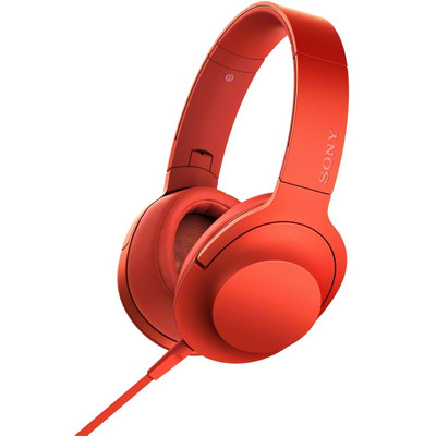 Sony h.ear MDR-100AAP - Hi-Res audio - Over-ear koptelefoon - Rood