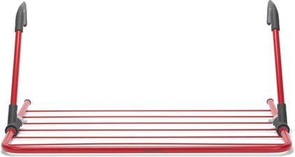 Brabantia Hangend droogrek 4,5 meter rood