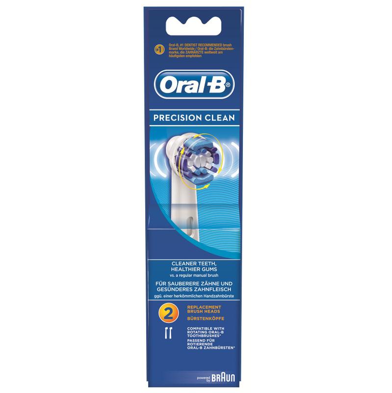 Oral-b Precision Clean 2 Stuks