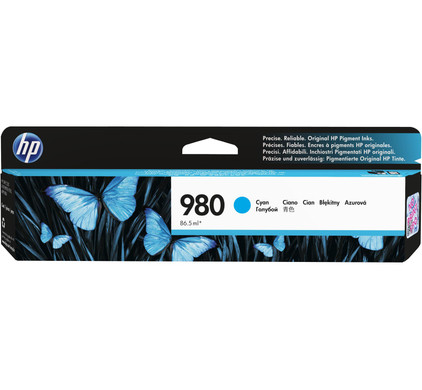 HP 980 Cartridge Cyaan (D8J07A)