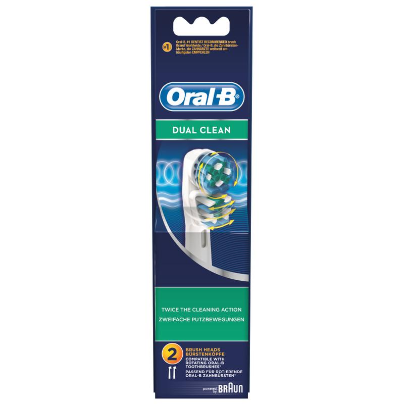 Oral-b Dual Clean 2 Stuks