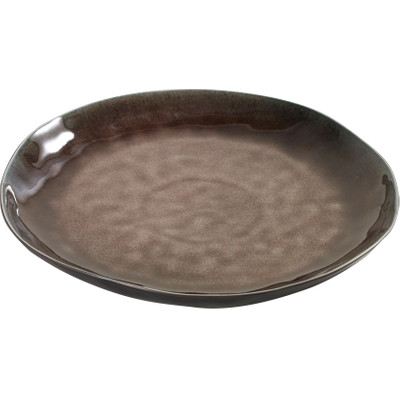 Image of Serax Pure Plat Bord Rond 28 cm bruin