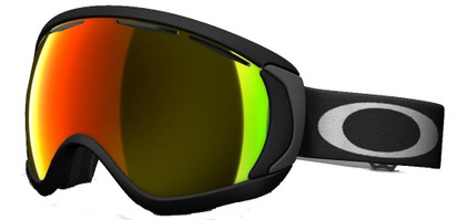 Oakley Canopy Matte Black + Fire Iridium