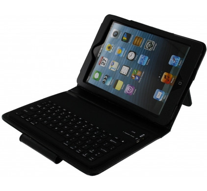 Xccess Keyboardcase iPad Mini / 2 / 3 Zwart