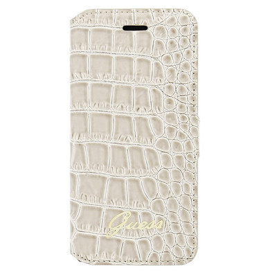 Guess Folio Case Crocodile Apple iPhone 6 Beige