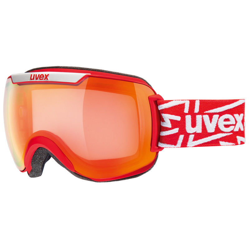Uvex Downhill 2000 Red Mat / Ltm Red Variomatic Clear