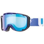Uvex Snowstrike Indigo + LTM Blue Variomatic Clear Lens