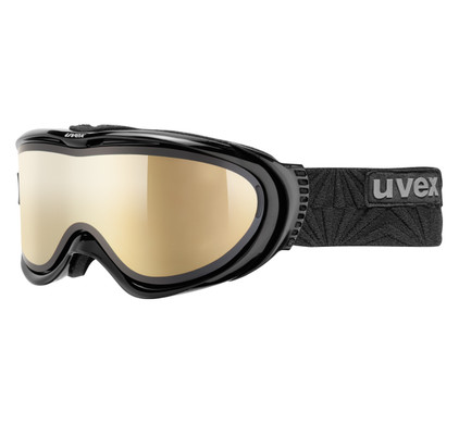 Uvex Comanche TOP Black + LTM Gold & Polavision Clear Lenzen
