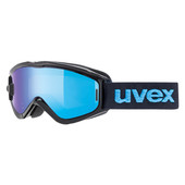 Uvex Speedy Pro TO Black Blue + LTM Blue Take Off & LGL Clear Lenzen