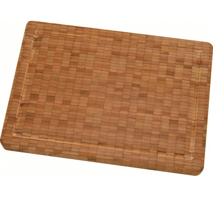 Zwilling J.A. Henckels Middelgrote bamboe snijplank 35,5 x 3 x 25 cm
