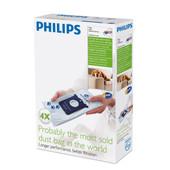Philips S-Bag FC8023/04 Anti Geur (4 stuks)
