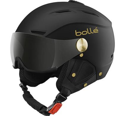 Bollé Backline Visor Soft Black & Gold (56-58 cm)