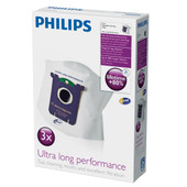 Philips S-Bag FC8027/01 Ultra Long Performance (3 stuks)