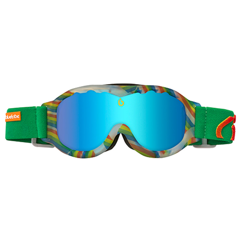 Dagaanbieding: Bluetribe Rainbow Kids White + Smoke Icy Blue Zaio Lens