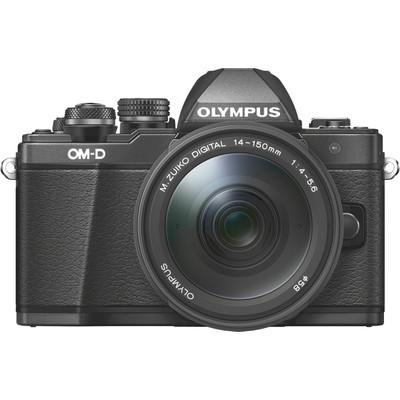 Image of Olympus E-M10 Mark II systeemcamera Zwart + 14-150mm II