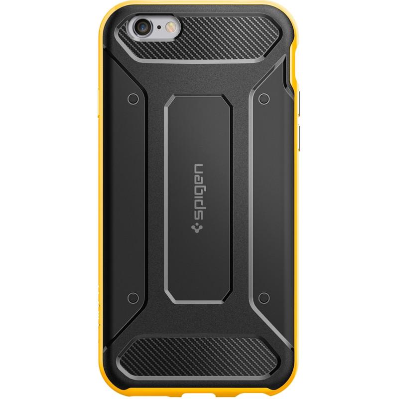 Spigen Neo Hybrid Carbon Case Apple iPhone 6/6s Geel
