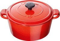 Fontignac Braadpan 24 cm Rood