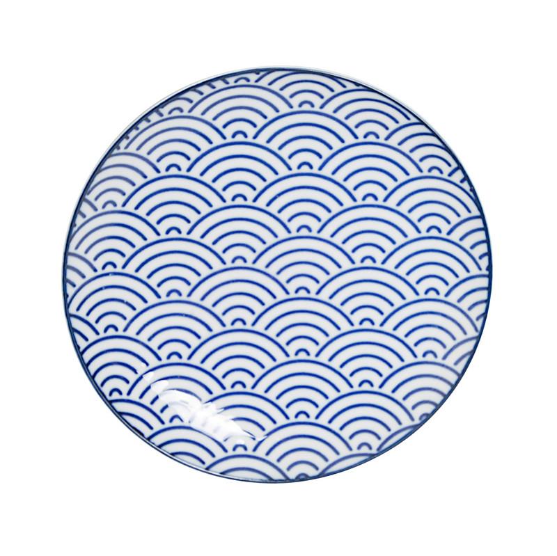 Tokyo Design Studio Nippon Blue Wave Bord 16 Cm