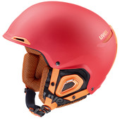 Uvex Jakk+ Red/Orange Matte (55 - 59 cm)