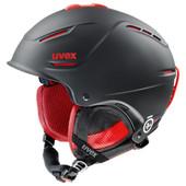 Uvex P1us Pro Black/Red Matte (55 - 59 cm)