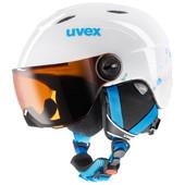 Uvex Junior Visor White/Turqouise (52 - 54 cm)