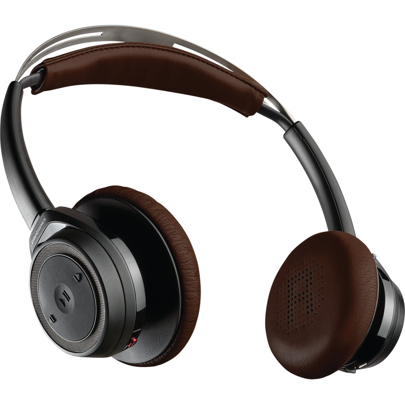 Plantronics Backbeat SENSE black-espresso on-ear hoofdtelefoon