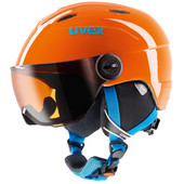 Uvex Junior Visor Orange (52 - 54 cm)