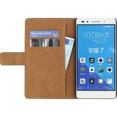 Mobilize Classic Wallet Book Case Honor 7 Zwart