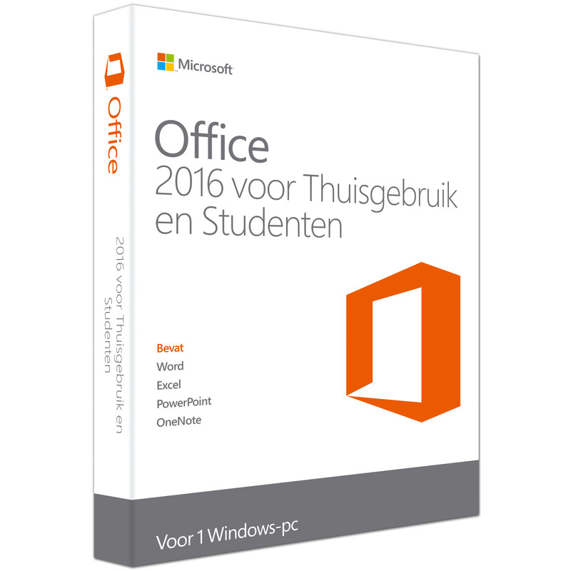 Microsoft Office Thuisgebruik En Studenten 2016 Fr